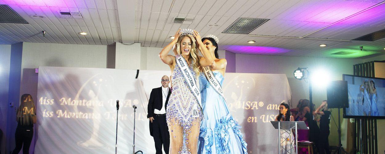 2021 Miss Montana USA Crowning Moment!